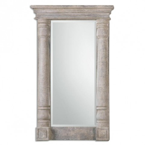 Castelvetere Carved Wood Mirror