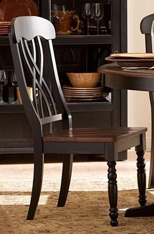 Ohana Black Side Chair Set of 2