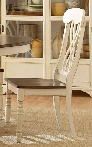 Ohana White Side Chair Set of 2