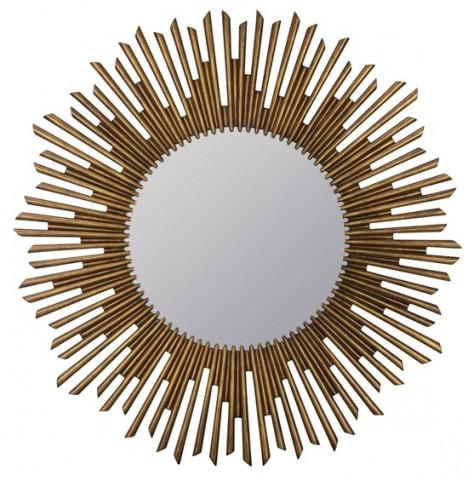 Lavia Aged Bronze Mirror