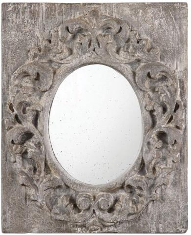 Valmorea Aged Gray Mirror