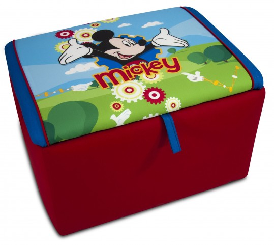 Disney's Mickey Mouse Clubhouse Upholstered Storage Box