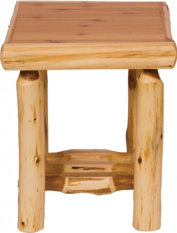 Cedar Open End Table