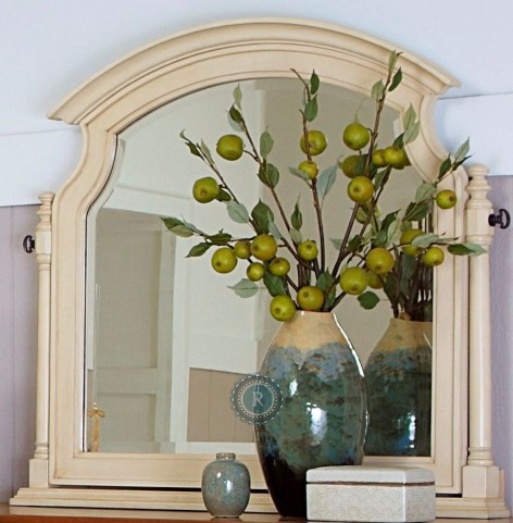 Inglewood White Swivel Mirror