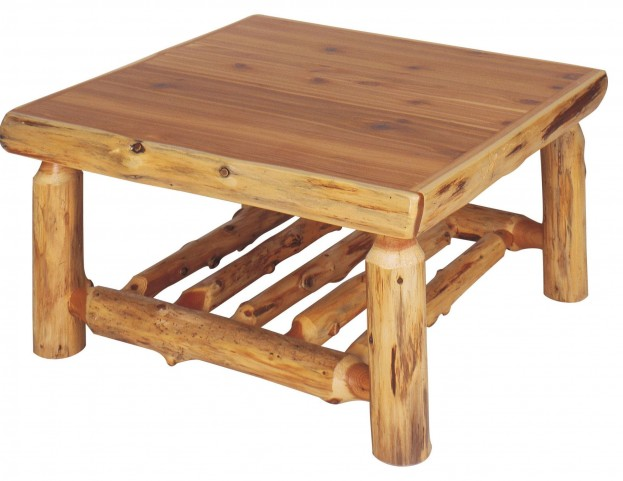 "Cedar 42"" Open Standard Coffee Table"