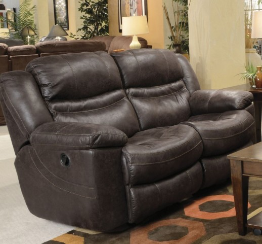 Valiant Coffee Reclining Loveseat