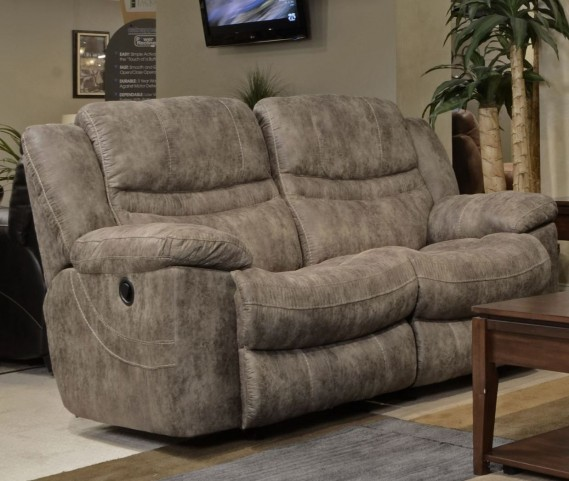 Valiant Marble Power Reclining Loveseat