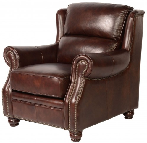 Appalachian Rustic Savauge Leather Chair