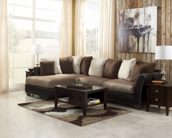 Masoli Mocha Left Arm Facing Sectional