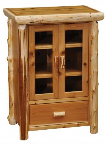Cedar Media Cabinet
