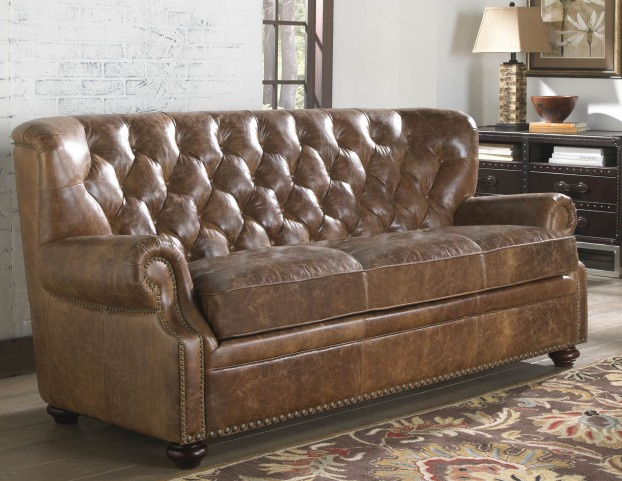 Louis Coco Brompton Leather Sofa
