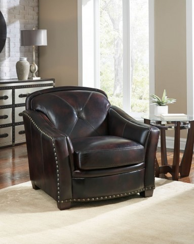 Lucinda Toberlone Leather Chair