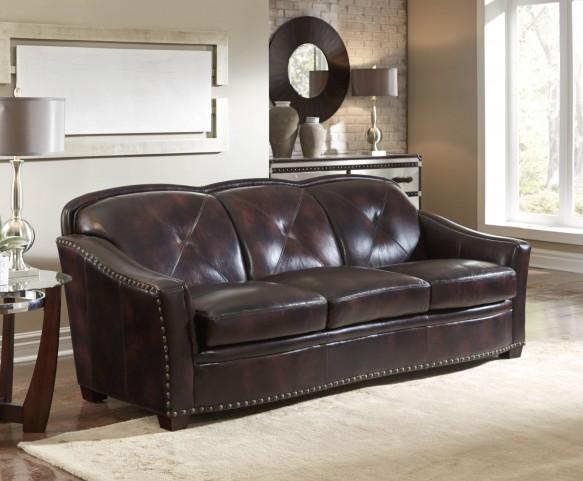 Lucinda Toberlone Leather Sofa
