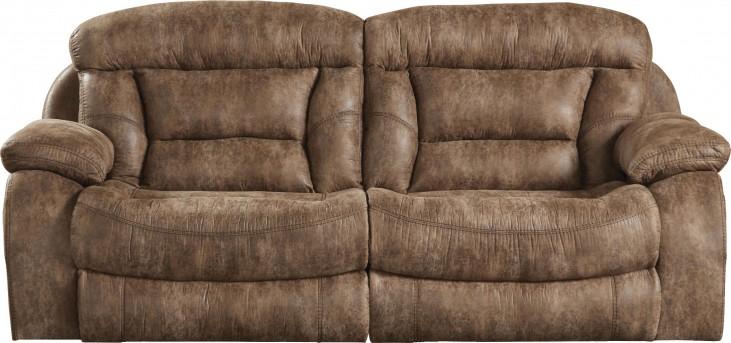 Desmond Mushroom Power Reclining Sofa