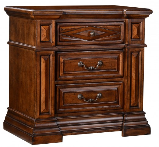 Marbella 3 Drawer Night Stand