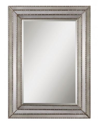 Seymour Antique Silver Mirror