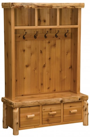 Cedar Entry Locker Unit