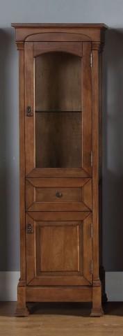 Brookfield Country Oak Linen Cabinet