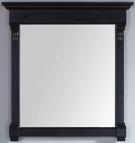 "Brookfield 39.5"" Antique Black Mirror"