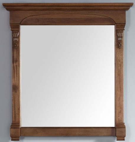 "Brookfield 39.5"" Country Oak Mirror"