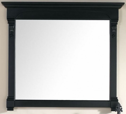"Brookfield 47.25"" Antique Black Mirror"