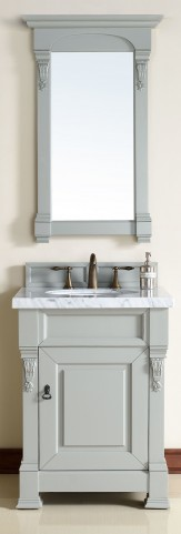 "Brookfield 26"" Urban Gray Single 4CM Top Vanity Set"