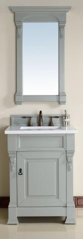 "Brookfield 26"" Urban Gray 3CM Single Bathroom Vanity Set"