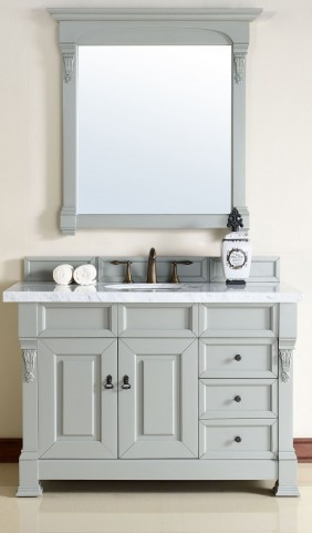 "Brookfield 48"" Urban Gray Single 4Cm Top Vanity"