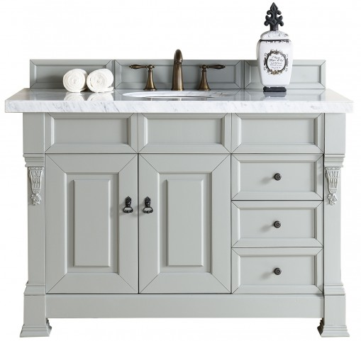 "Brookfield 48"" Urban Gray Single 2Cm Top Vanity"