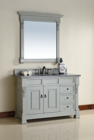 "Brookfield 48"" Urban Gray Single 3Cm Top Vanity"