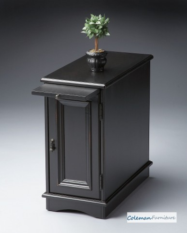 Black Licorice 1476111 Chairside Chest