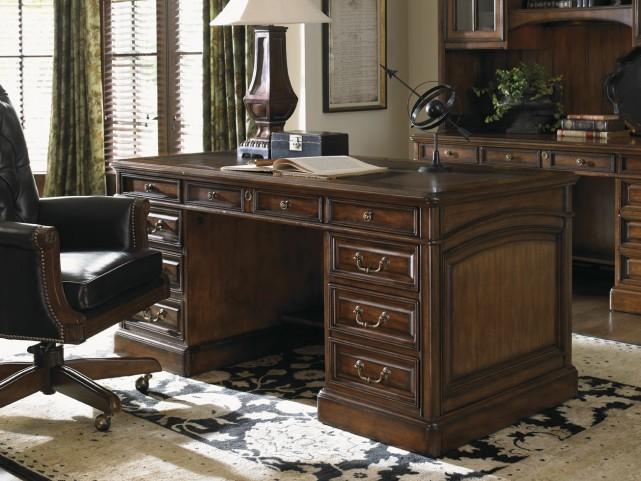 Breckenridge Briarwood Broadmoor Pedestal Desk