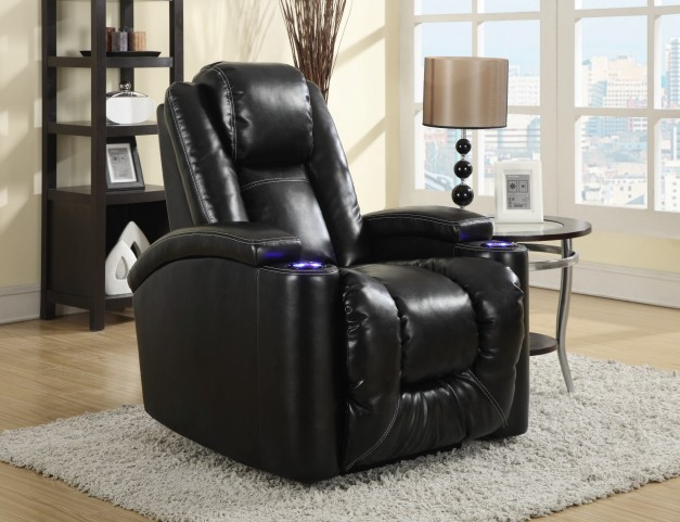 Matrix Black Power Recliner