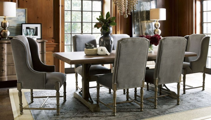 Authenticity Khaki Oxford Street Dining Room Set
