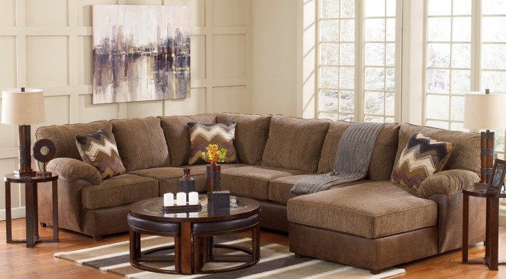 Cladio Hickory RAF Sectional