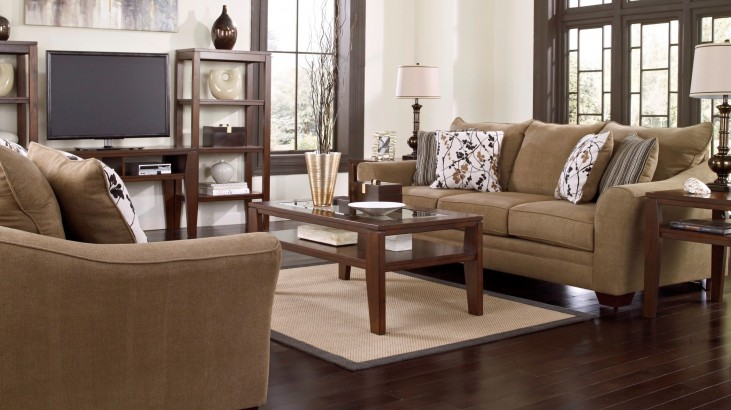 Mykla Shitake Living Room Set