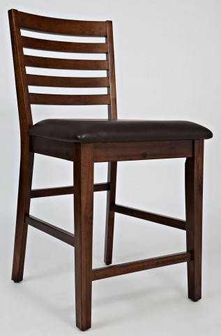 Coolidge Corner Ladderback Counter Stool Set of 2