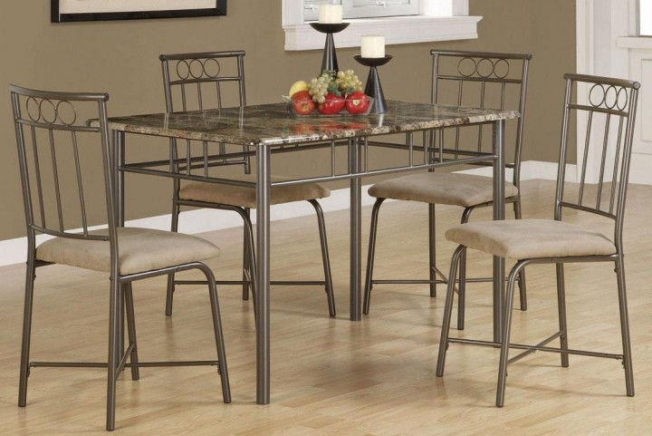 Dinettes Tan 5 pc Dining Set 150114