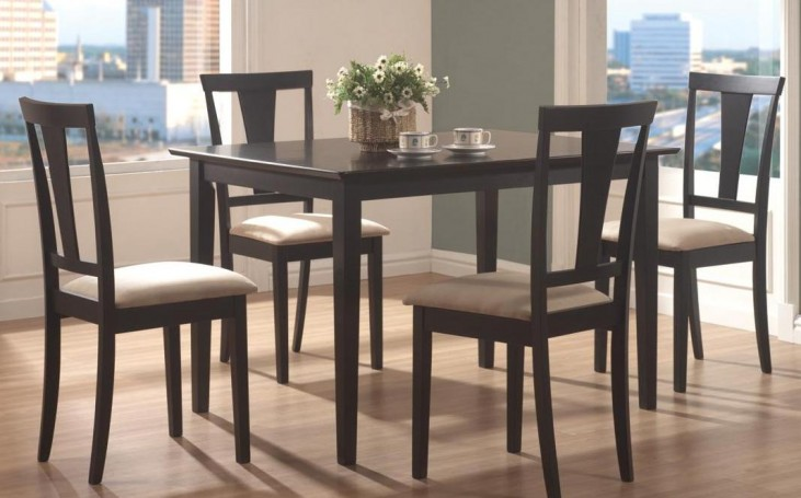 Beige 5 Pcs Counter Height Dining Set 150181N