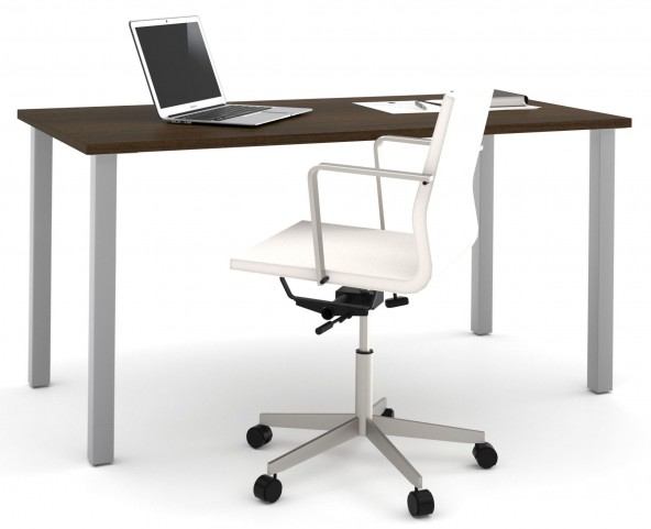 i3 Tuxedo Metal Leg Table