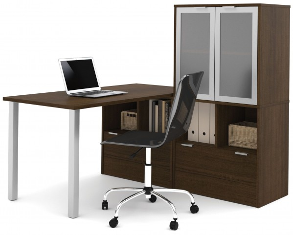 150855-78 i3 Tuxedo L-Shaped desk