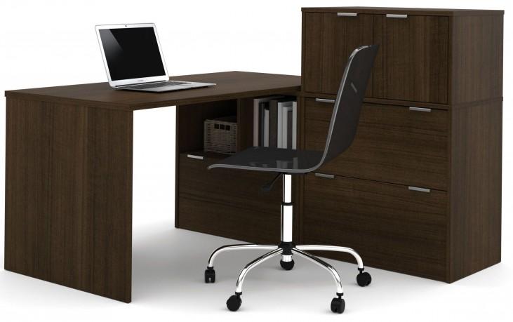 150863-78 i3 Tuxedo L-Shaped desk