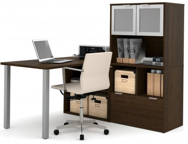 150874-78 i3 Tuxedo L-Shaped desk