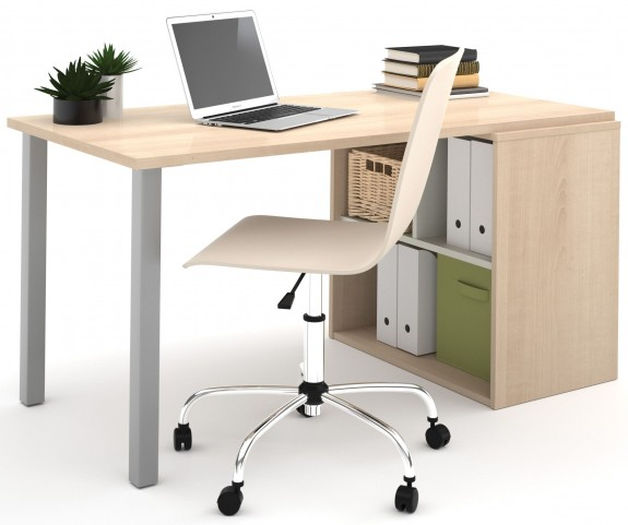 150877-38 i3 Northern Maple and Sandstone Workstation