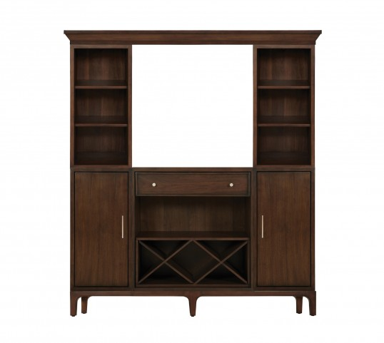 Improv in B Clear Brown The Entertainer Wall Unit