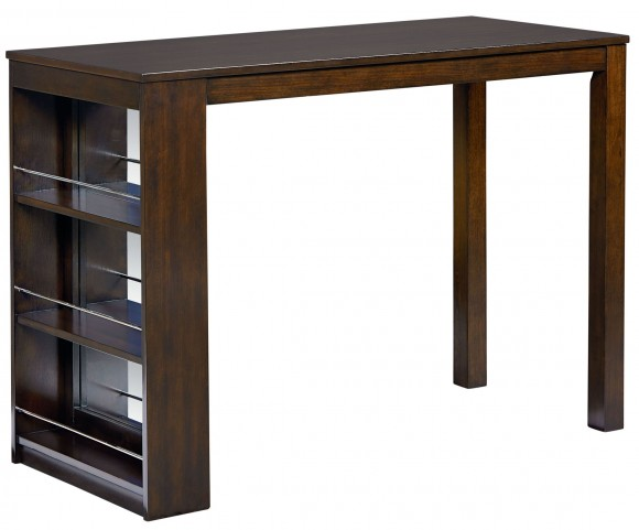 Porter Rich Dark Brown Counter Height Table