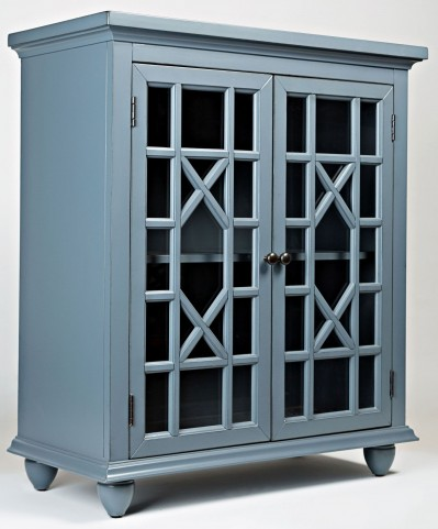 Brighton Park Cornflower Blue Accent Chest