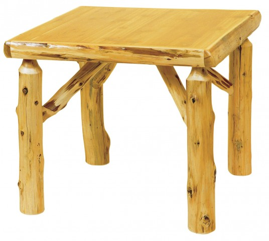 "Cedar 32"" Square Armor Game Table"