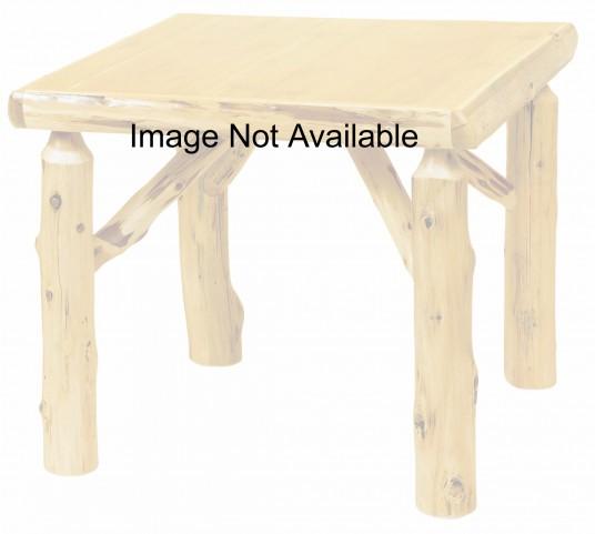 "Cedar 36"" Square Liquid Glass Game Table"