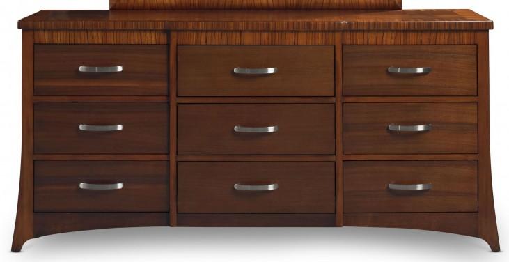 Milan Medium Brown Dresser